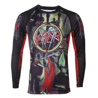 tričko pánske s dlhým rukávom (technickej) TATAMI - Slayer - Reign In Blood - Rash Guard, TATAMI, Slayer