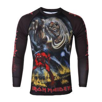tričko pánske s dlhým rukávom (technickej) TATAMI - Iron Maiden - Number of the Beast - Rash Guard