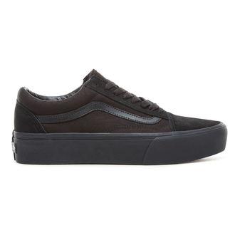 topánky VANS - UA OLD SKOOL PLATFOR - Black / Black, VANS