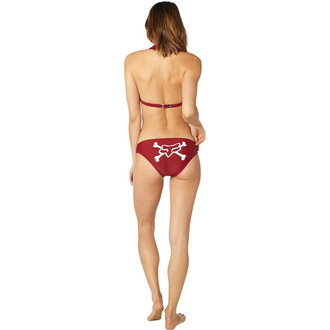plavky dámske FOX - Throttle Maniac - Halter - Dark Red, FOX
