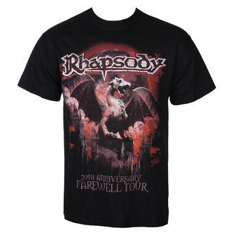 tričko pánske RHAPSODY - 20TH ANNIVERSARY - RAZAMATAZ, RAZAMATAZ, Rhapsody