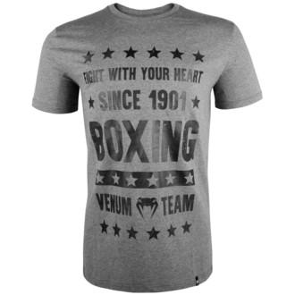 tričko pánske VENUM - Boxing Origins - Heather Grey, VENUM