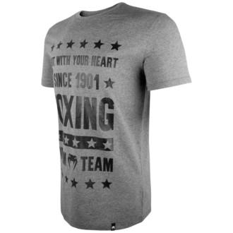 tričko pánske VENUM - Boxing Origins - Heather Grey, VENUM
