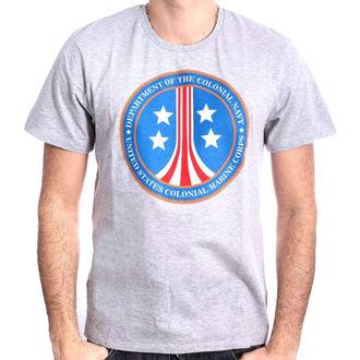 tričko pánske ALIEN - US MARINE COLONIAL CORPS - GREY MELANGE - LEGEND, LEGEND, Alien - Vetřelec