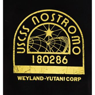 tričko pánske ALIEN - USCSS S04 - BLACK - LEGEND, LEGEND, Alien - Vetřelec