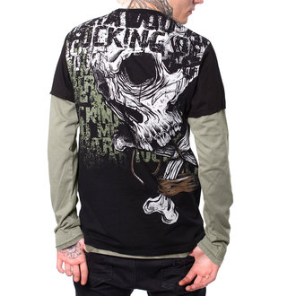 tričko pánske s dlhým rukávom HYRAW - LAND, HYRAW