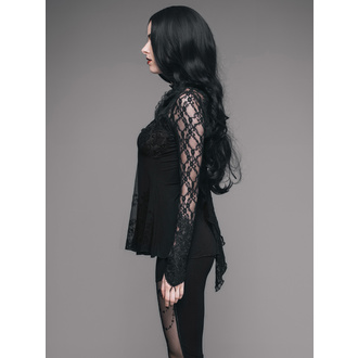 tričko dámske s dlhým rukávom DEVIL FASHION - TT051