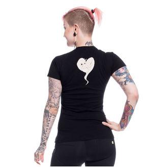 tričko dámske Cupcake Cult - UNICORN DREAM - BLACK, CUPCAKE CULT