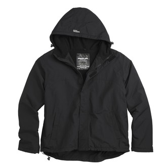 bunda pánska (vetrovka) SURPLUS - ZIPPER WINDBREAKER - Schwarz