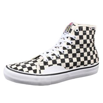 topánky VANS - MN AV CLASSIC HIGH P (Chckrbrd) - Black/White, VANS
