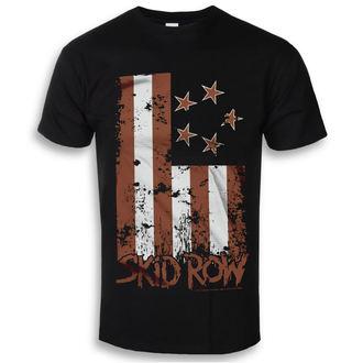 tričko pánske Skid Row - Stars & Stripes - Black - HYBRIS, HYBRIS