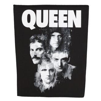 nášivka veľká Queen - Faces - RAZAMATAZ, RAZAMATAZ, Queen