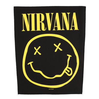 nášivka veľká Nirvana - Smiley - RAZAMATAZ, RAZAMATAZ, Nirvana