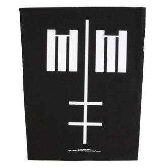 nášivka veľká Marilyn Manson - Cross Logo - RAZAMATAZ, RAZAMATAZ, Marilyn Manson