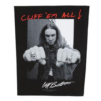 nášivka veľká Metallica - Cliff Em Aill - RAZAMATAZ