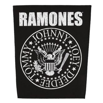 nášivka veľká RAMONES - CLASSIC SEAL - RAZAMATAZ, RAZAMATAZ, Ramones