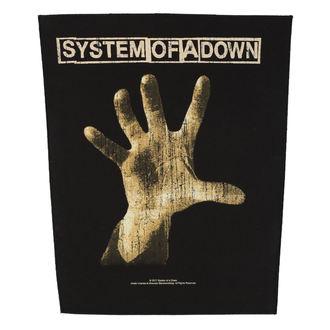 nášivka veľká SYSTEM OF A DOWN - HAND - RAZAMATAZ, RAZAMATAZ, System of a Down