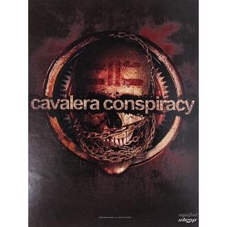 vlajka Cavalera Conspiracy HFL 0971, HEART ROCK, Cavalera Conspiracy