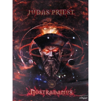 vlajka Judas Priest - Nostradamus, HEART ROCK, Judas Priest