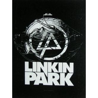 vlajka Linkin Park - Atomic Age, HEART ROCK, Linkin Park