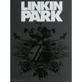 vlajka Linkin Park - Plan B, HEART ROCK, Linkin Park