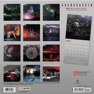 kalendár na rok 2019 SOUNDGARDEN, NNM, Soundgarden