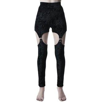 nohavice dámske (legíny) KILLSTAR - Nina - BLACK, KILLSTAR