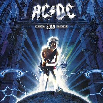 kalendár na rok 2019 AC/DC