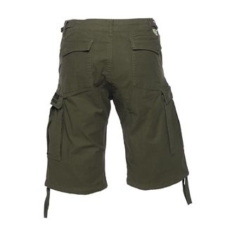 kraťasy pánske WEST COAST CHOPPERS - CARGO - Olive green, West Coast Choppers