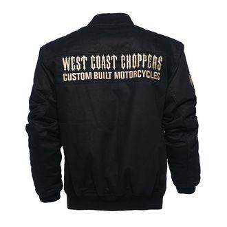 bunda pánska WEST COAST CHOPPERS - ASSUALT - BLACK, West Coast Choppers