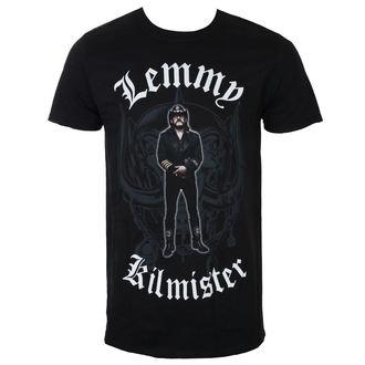 tričko pánske Lemmy Kilmister - Memorial Statue - Black - ROCK OFF, ROCK OFF, Motörhead