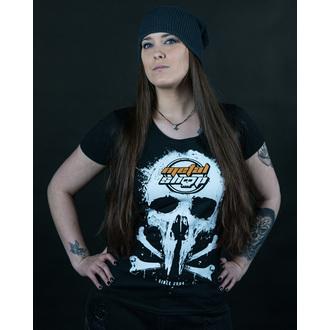 tričko dámske Metalshop - Black, METALSHOP