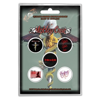 odznaky Mötley Crüe - DR FEELGOOD - RAZAMATAZ, RAZAMATAZ, Mötley Crüe