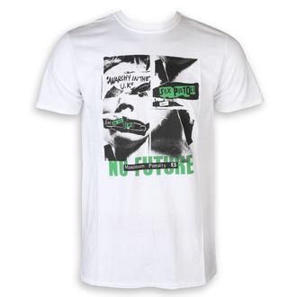 tričko pánske Sex Pistols - No Future - White - ROCK OFF, ROCK OFF, Sex Pistols