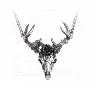 obojok ALCHEMY GOTHIC - White Hart Black Rose, ALCHEMY GOTHIC