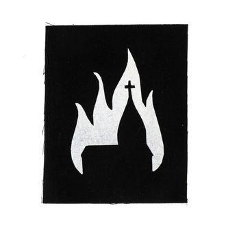 nášivka Burning church, NNM