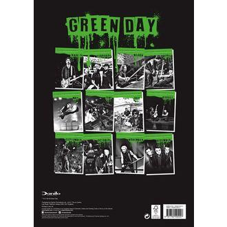 kalendár na rok 2019 - GREEN DAY, Green Day