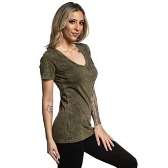 tričko dámske SULLEN - EVER - TEE OLIVE - SCW2993_OV