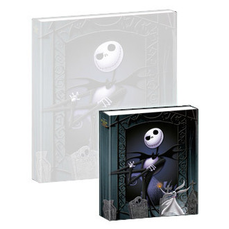 hrajúci notes Nightmare Before Christmas - Musical Mini-Notebook Jack & Zero, NIGHTMARE BEFORE CHRISTMAS