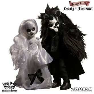 bábika Living Dead Dolls - Scary Tales Beauty and the Beast, LIVING DEAD DOLLS