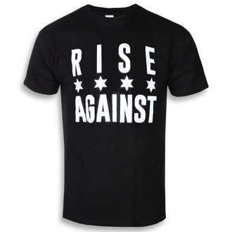 tričko pánske Rise Against - Chicago Flag White - Black - KINGS ROAD, KINGS ROAD, Rise Against