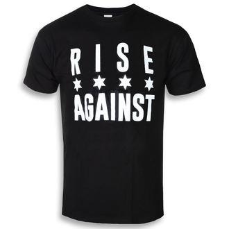 tričko pánske Rise Against - Chicago Flag White - Black - KINGS ROAD, KINGS ROAD, Rise Against