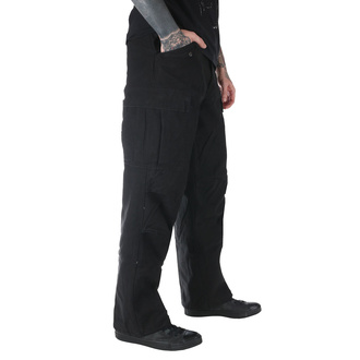 kalhoty pánské M65 Pant NYCO washed - Black, MMB