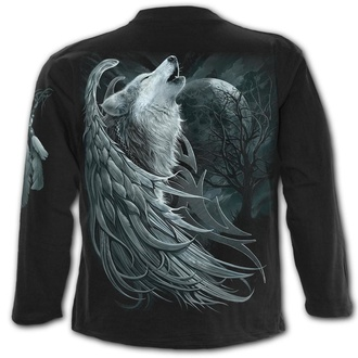 tričko pánske s dlhým rukávom SPIRAL - WOLF SPIRIT, SPIRAL