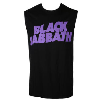 tielko pánske BLACK SABBATH - PURPLE LGO - BRAVADO, BRAVADO, Black Sabbath