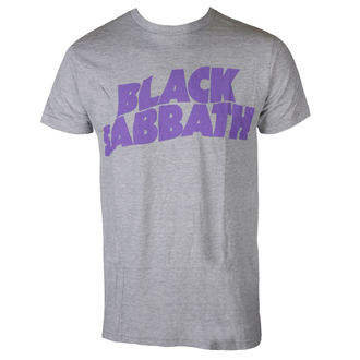 tričko pánske BLACK SABBATH - PURPLE LGO T GRY - BRAVADO, BRAVADO, Black Sabbath