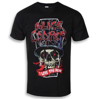 tričko pánske Alice Cooper - Love The Dead (Nov) - ROCK OFF, ROCK OFF, Alice Cooper