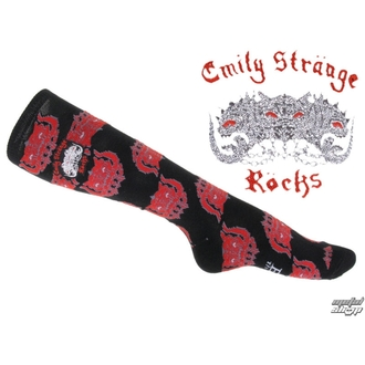 ponožky (podkolienky) EMILY THE STRANGE, EMILY THE STRANGE