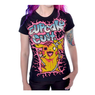 tričko dámske POIZEN INDUSTRIES 'Zombie T Ladies Blk', CUPCAKE CULT