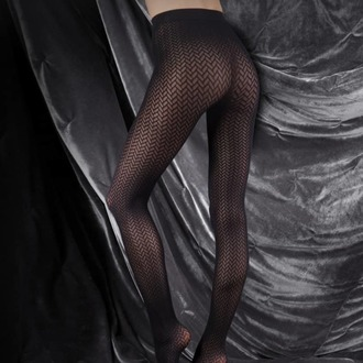 pančucháče LEGWEAR - couture ultimates - the catherine - black, LEGWEAR